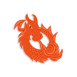 Dragon Embroidery design files