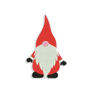 Christmas Gnome Embroidery design
