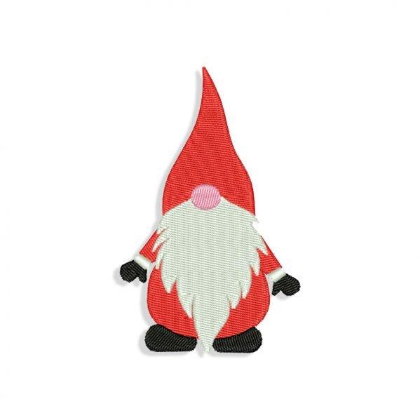 Christmas Gnome Embroidery design