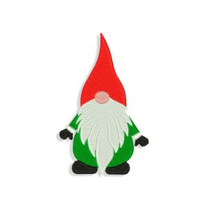Gnome Embroidery design files