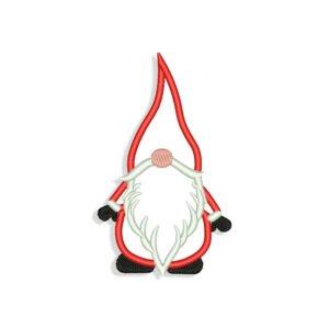 Gnome Applique Embroidery design