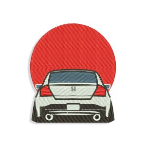 JDM Honda Embroidery design
