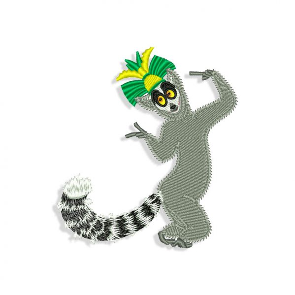 Madagascar Embroidery design