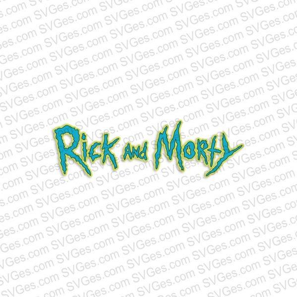 Rick and Morty, Rick face SVG files