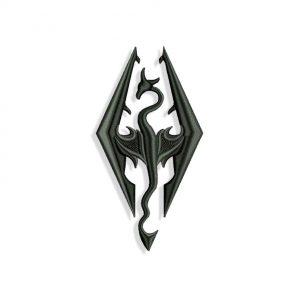 Skyrim Embroidery design