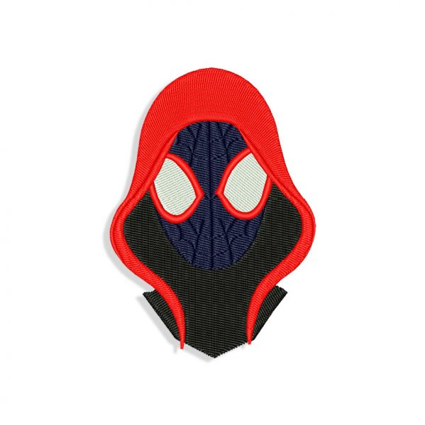 Spider-man Miles Morales Embroidery design