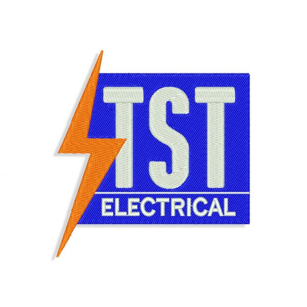 TST Electrical Embroidery design