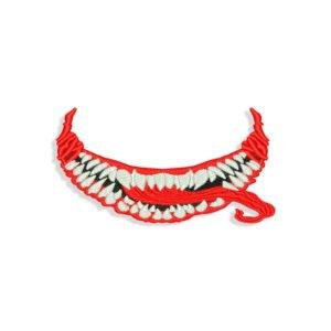 Venom Face Embroidery design
