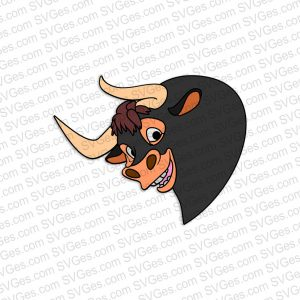 Bull Ferdinand SVG files