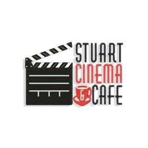 Cinema Cafe Embroidery design