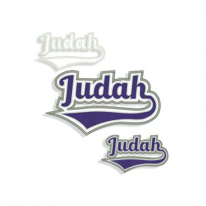 Judah Embroidery design and Applique files