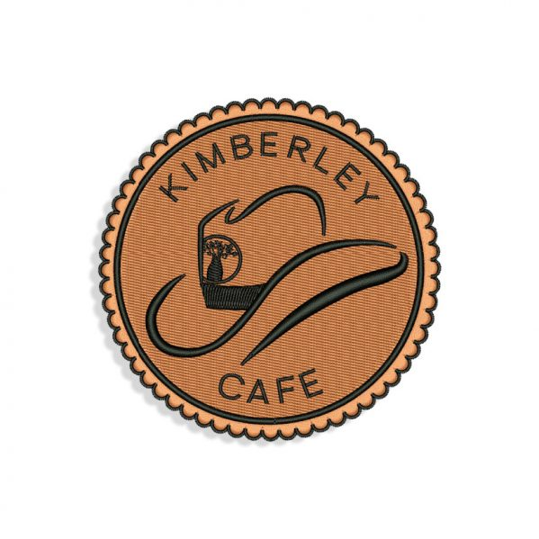 Kimberley Cafe Embroidery design