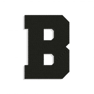 Letter B Embroidery design