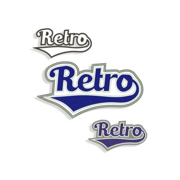 Retro Embroidery design
