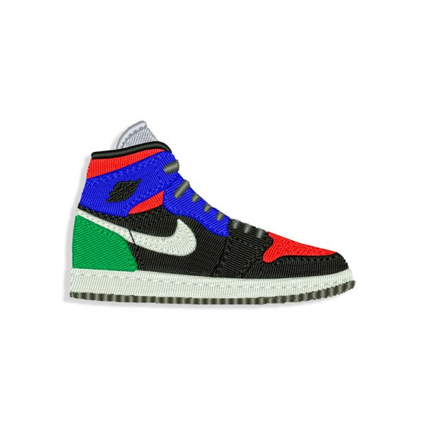 Sneakers Nike Embroidery design