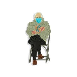 Bernie Sanders Meme Embroidery design