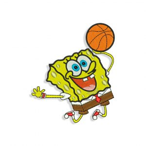 Spongebob Embroidery design