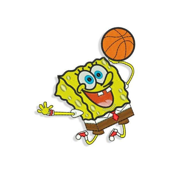 Spongebob Embroidery design