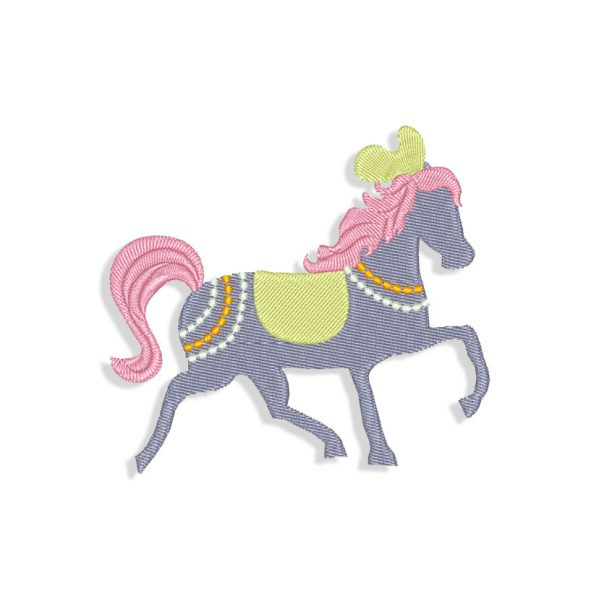 Horse Embroidery design files