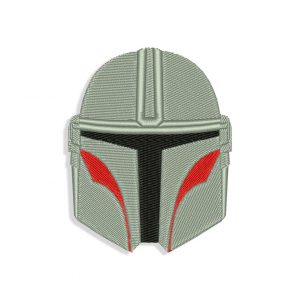 Mandalorian Embroidery design