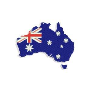 Australia Embroidery design