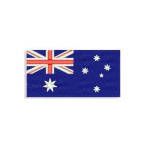 Australian Flag Embroidery design