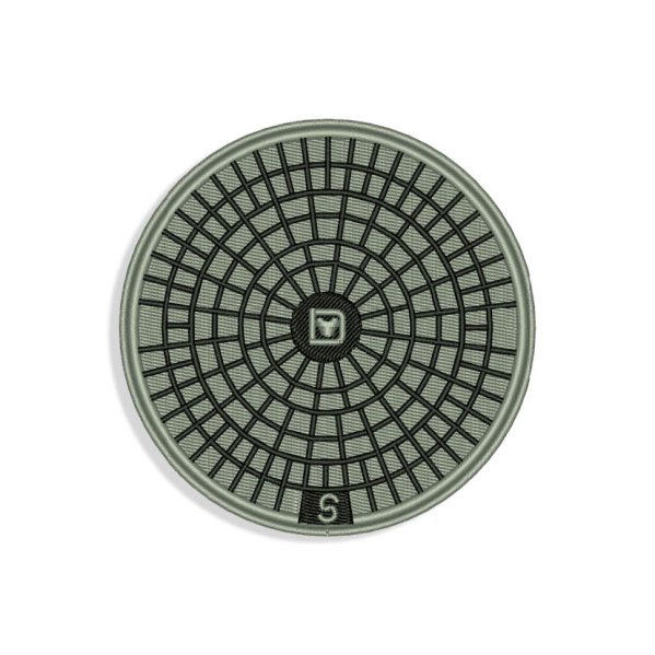 Manhole Cover Embroidery design