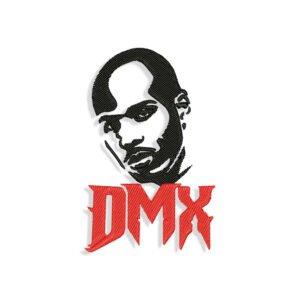 DMX Face Embroidery design
