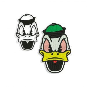 Oregon Donald Duck Embroidery design
