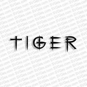 Tiger SVG files