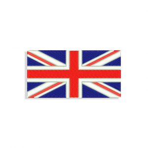 UK Flag Embroidery design