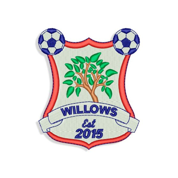 Willows Embroidery design