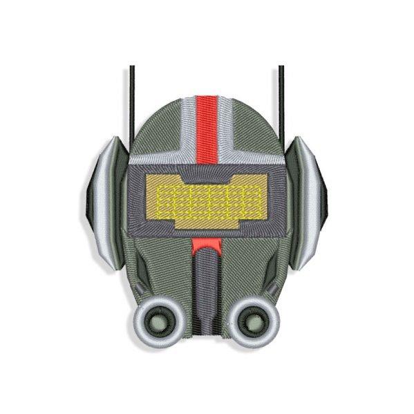 The Bad Batch Tech Helmet Embroidery design files