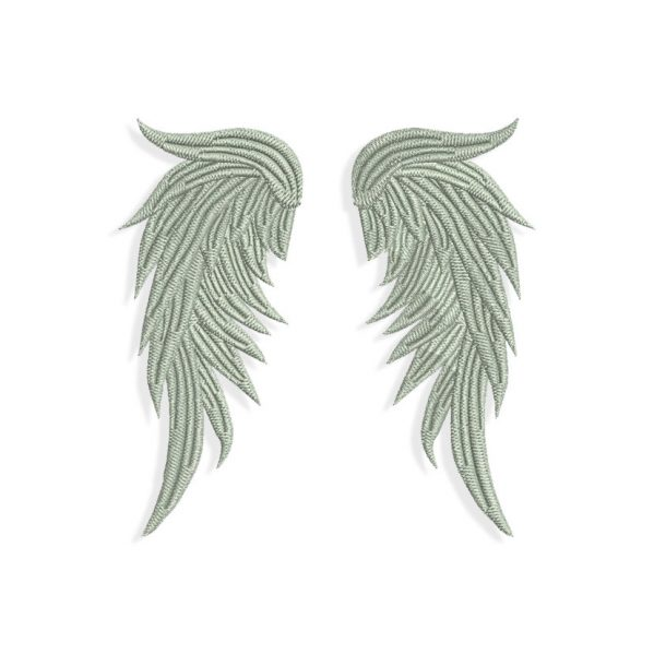 Feather Wings Embroidery design