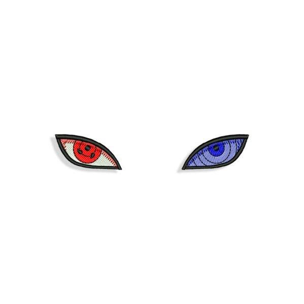 Naruto Anime Eyes Embroidery design