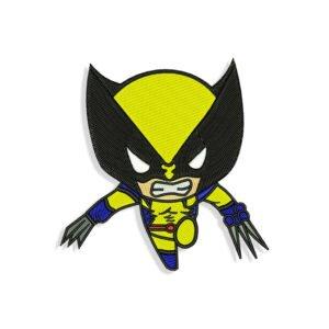 Wolverine Embroidery design