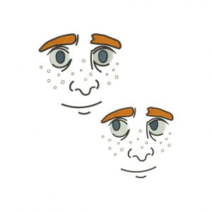 Face Embroidery design