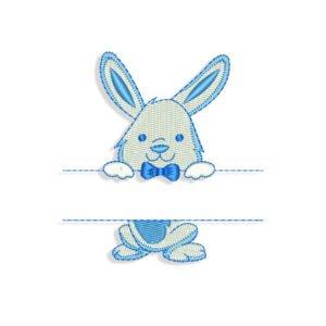 Rabbit Bunny Frame Embroidery design