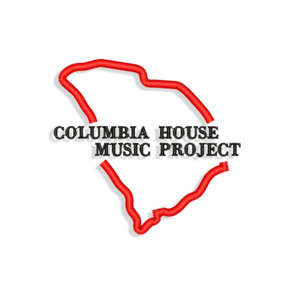 Columbia House Embroidery design