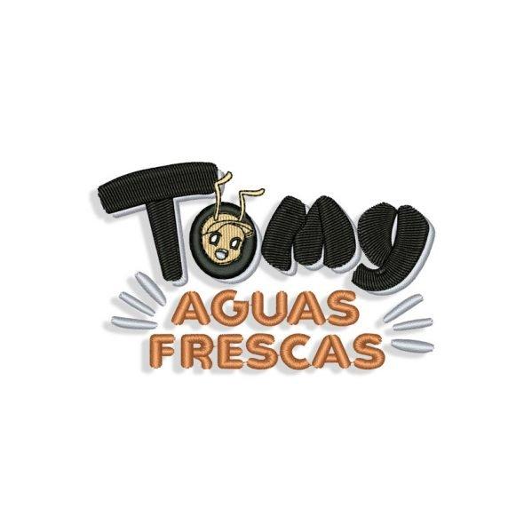 Tomy Aguas Frescas Embroidery design
