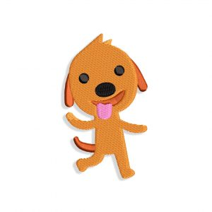 Harvey the Dog Embroidery design