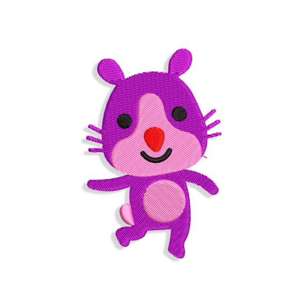 Rosie the Hamster Embroidery design