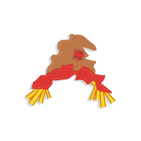 Scarecrow Hat Embroidery design