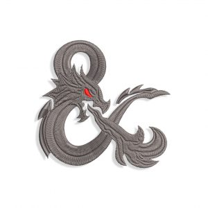 Dungeons & Dragons Embroidery design