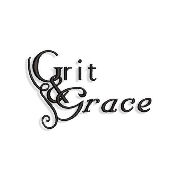 Grit & Grace Embroidery design