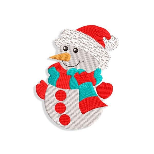 Snowman Embroidery design