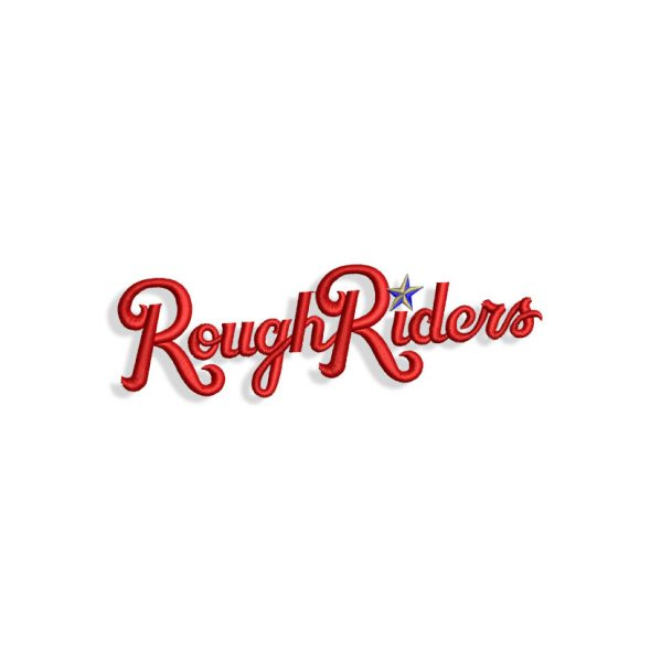 Rough Riders Embroidery design