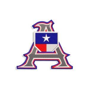 Texas Alpha Embroidery design